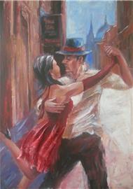 Tango v ulicích