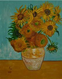 Slunečnice jako od van Gogha